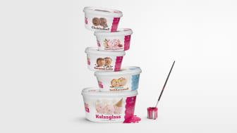 Årets nyheter i butik från SIA Glass: Kalasets egen glass och fulländad svensk sommarsmak