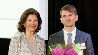 Ung alzheimerforskare fick pris av Drottning Silvia
