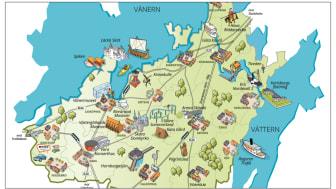 Next Skövde och Destination Läckö-Kinnekulle ska jobba med utveckling i Skaraborg under fyra år. Bild: Next Skövde