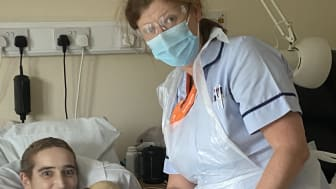 Lisa Ball, Staff Nurse in ellenor's Inpatient Unit (IPU)