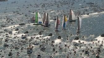 Bostadsbolaget är med när Volvo Ocean Race går i mål
