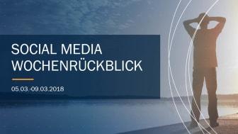 Die Woche in Social Media KW 10 I 2018