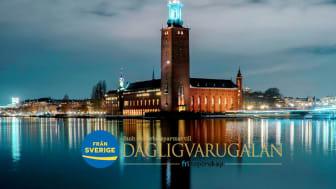 Ursprungsmärkningen Från Sverige har glädjen att för tredje året presentera en festlig galamiddag av svenska råvaror vid Dagligvarugalan 2020 i Blå Hallen den 8 oktober.