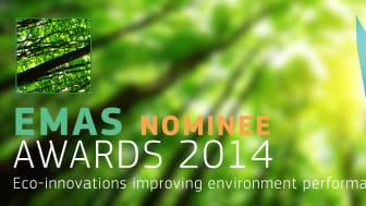 """Hr Björkmans Entrémattor nominerade till EMAS Award 2014 i kategorin """"small companies"""""""