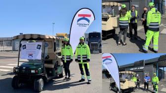 Customer service till er tjänst i Trelleborgs Hamn