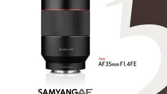 Samyang AF 35mm F1.4 FE Poster