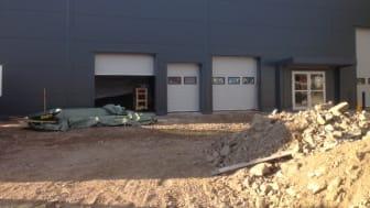 Bygget av vår andra bilprovning i Gävle!