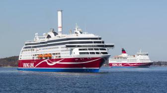 Viking Lines trafik den 2 april 2020 och framåt