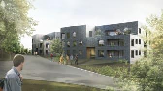 Patriam bygger exklusiva bostäder i Danderyd