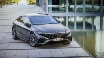 Nu visas den första rena elbilen från Mercedes-AMG. Upp till 761 hästkrafter och ett vridmoment på 1020 Nm.