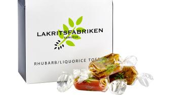 Rhubarb/Liquorice Toffee, 100 g