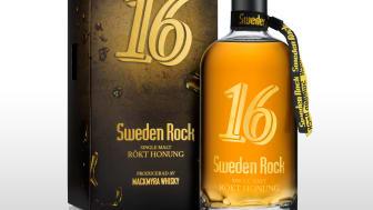 Honung, rök och rock 'n roll - Sweden Rock följer upp fjolårets succé med ny limiterad whiskydryck