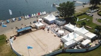 Das Camp 24_7 bietet viel Platz für sportliches Erlebnis an Land und zu Wasser
