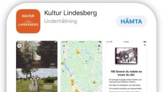 Lindesbergs kultur-app klar för nedladdning och invigning