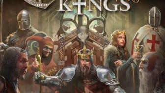 Svenskutvecklade Crusader Kings the Board Game på internationella spelmässan SPIEL – En kunglig spelupplevelse!