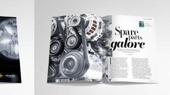 Samarbetet mellan Strands och Europart lyfts i det internationella businessmagasinet CEO magazine
