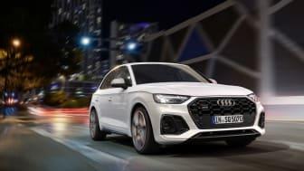 Sportig, kraftfull och effektiv – säljstart för nya Audi SQ5 TDI