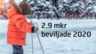 Under 2020 har Södra Dalarnas Sparbank beviljat 2,9 mkr till det lokala förenings- och näringslivet i Avesta, Hedemora och Säters kommun.