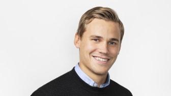 Rasmus Nilsson, vårt senaste tillskott på Innesälj- och Orderavdelningen.