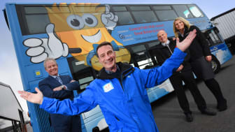 The joint initiative will look at how regional businesses can become involved with CSR activities like Go North East's recent support of Daft as a Brush