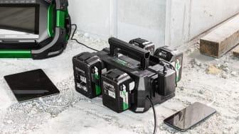 Batterilader Multiport UC18YTSL