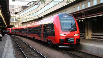 MTR Express levererar högsta punktligheten mellan Göteborg och Stockholm.