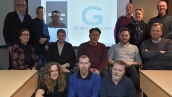 Teamet på Welin & Co, som nyss blivit Auktoriserat Golvföretag