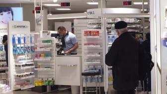 Folks tillit til apotekene er veldig høy under pandemien.