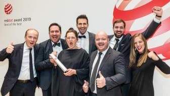 GROHE har vundet prisen som årets brand til Red Dot Awards.