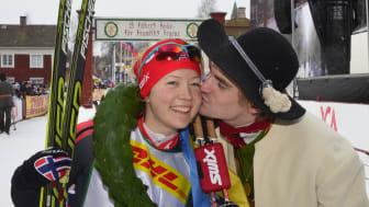 Laila Kveli, Norge, segrade i TjejVasan 2015.