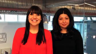 Vi hälsar Sofie och Tania välkomna till Eminent