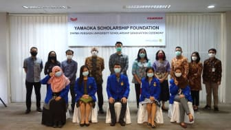 Yamaoka Scholarship Foundation_First Scholarship Graduation Ceremony