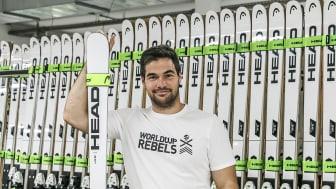 Vincent Kriechmayr ist jetzt ein HEAD World Cup Rebel