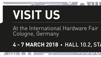 Saint-Gobain Abrasives on näytteilleasettajana Eisenwarenmesse – International Hardware Fair 2018 –messuilla