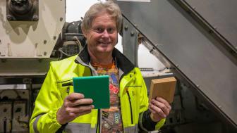Stig Fagerli, planlegger ved teknisk vedlikehold hos Felleskjøpet Rogaland Agder
