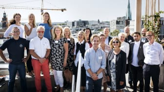Juryn för Stockholms Innovationsstipendium 2017. Fotograf: Anna Rut Fridholm.