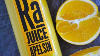 Kallpressad juice från Herrljunga Musteri får nytt ansikte – Herrljunga Rå!