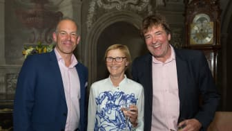Phil Spencer with Lord and Lady Sackville