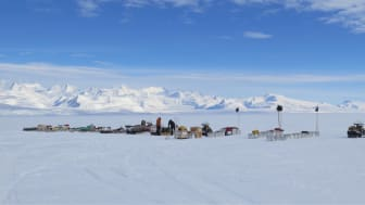 Digging out equipment for field camps (credit: Tim Gee, BAS)