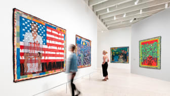 One of the new exhibtion is a Faith Ringgold retrospective with works from the 1960s to the 2000s. Photo: Mikael Lundgren.