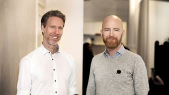 Magnus Sjöbäck, vd, och Jörgen Lindqvist, vice vd på Greatness PR.