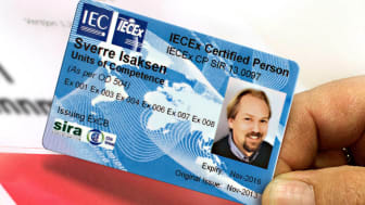 IECEx Certificate of Personnell Competence Scheme