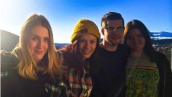 Fyra Årestudenter pitchade sig till vinst i Sveriges ledande tävling för entreprenörer