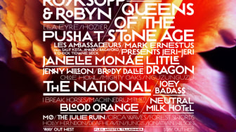 Little Dragon, Les Ambassadeurs, Hozier m.fl. till Way Out West