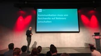 """Dr. Georg Kolb zum Thema """"Der Kommunikator der Zukunft"""""""