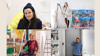 Fra oppe til venstre: Tori Wrånes, Kira Wagner, Steinar Haga Kristensen, Matias Faldbakken.