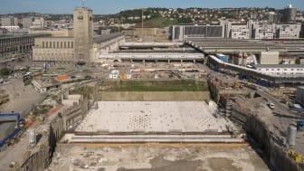 Baustelle des neuen Stuttgarter Hauptbahnhofs (Copyright: Achim Birnbaum)
