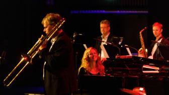 Kathrine Windfeld och Bohuslän Big Band vid ett tidigare tillfälle