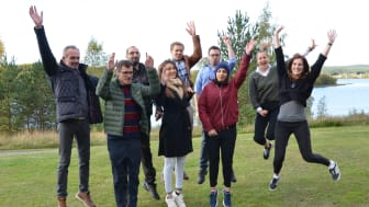 Kickoffen i Tavelsjö hoppas deltagarna blir en flygande start på deras resa från affärsidé på servett till  framgångsrikt bolag.