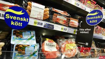 Butikskampanj för ursprungsmärkning av kött och charkuterier